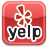 Yelp Logo with link